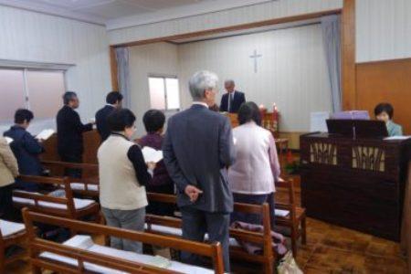 小高伝道所のクリスマス礼拝