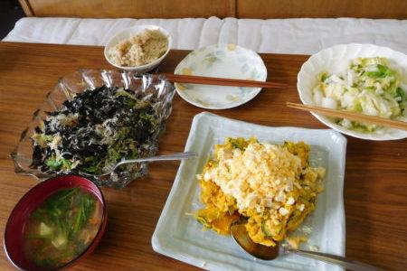 教会のお昼ごはん(2017.5.7)