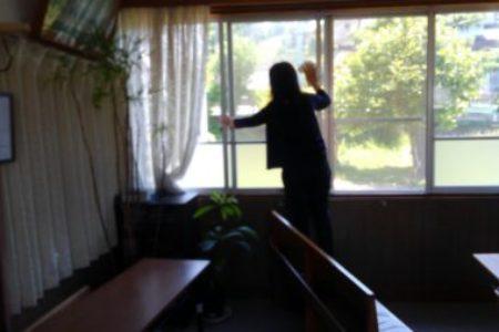 窓ふき清掃