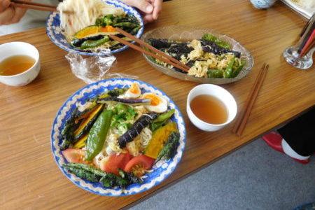 教会のお昼ごはん(2017.7.9)