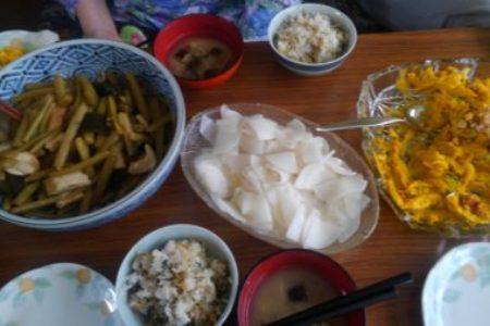 教会のお昼ごはん(2017.7.2)