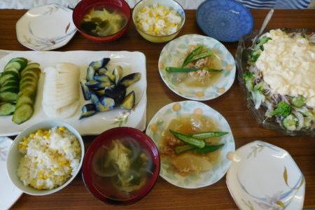 教会のお昼ごはん(2017.9.3)