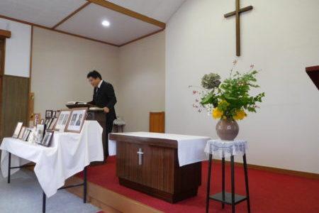 2017年永眠者記念礼拝