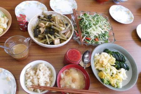 教会のお昼ごはん(2018.5.6)