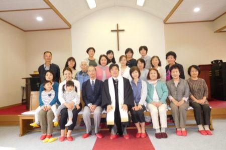 創立118年記念礼拝・花の日こどもの日礼拝