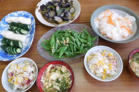 教会のお昼ごはん(2018.7.1)