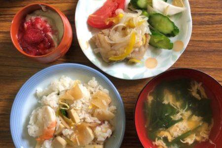 教会のお昼ごはん(2019.6.9)