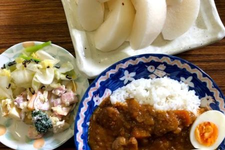 教会のお昼ごはん(2019.12.1)